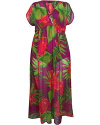 Ann Harvey   Tropical Print Maxi   Lyst