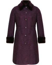Ann Harvey    Tapestry Fur Coat   Lyst