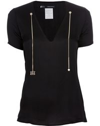 DSquared² Chain Detailed Blouse black - Lyst