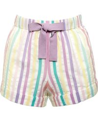 John Lewis - Seersucker Striped Pyjama Shorts - Lyst