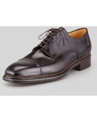 Lidfort - Captoe Leather Bluche - Lyst