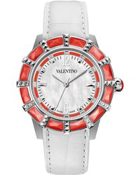 Valentino - Eden Mother-Of-Pearl Watch - Lyst