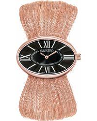 Valentino - Seduction Rose Gold Watch - Lyst