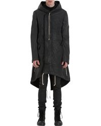 DRKSHDW by Rick Owens Long Hooded Parka - Lyst