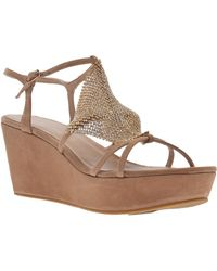 Lola Cruz - Platform Wedge - Lyst