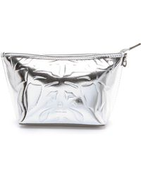 McQ - Metallic Makeup Bag - Lyst