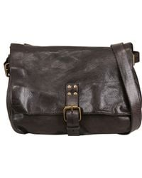 Officine Creative - Vintage Tucson Leather Messenger Bag - Lyst