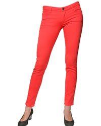 Vanessa Bruno Athé - Super Skinny Denim Stretch Jeans - Lyst