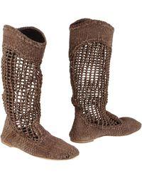 Vicini Tapeet Boots - Lyst