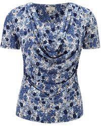 Cc Petite Blue Floral Jersey multicolor - Lyst