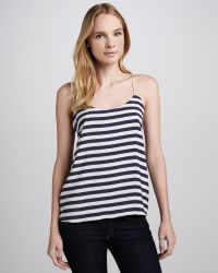 Charles Henry - Striped Racerback Tank - Lyst