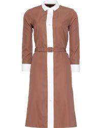 Marc Jacobs Shirt Dress - Lyst