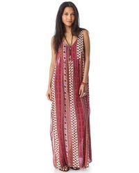 MINKPINK Maya Cover Up Maxi Dress - Lyst