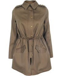 Thakoon Addition Drawstring Trench Coat - Lyst