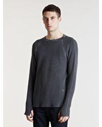 Unused - Mens Long Sleeve T-shirt - Lyst