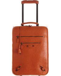 Balenciaga Voyage Carry On Trolley - Lyst