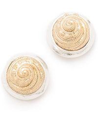 Rose Pierre - Harp Seashell Earrings - Lyst