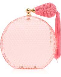 Charlotte Olympia Circular Perfume Clutch - Lyst