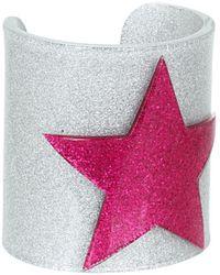 Jean Paul Gaultier Star Cuff Bracelet silver - Lyst