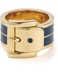 Michael Kors Wide Buckle Ring - Lyst