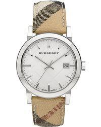 Burberry - Haymarket Watch - Lyst