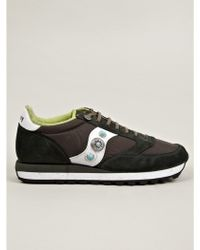 The Editor For Saucony Mens Green Jazz Original Sneakers - Lyst