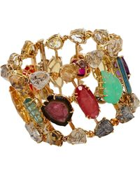 Sharon Khazzam - Multi Gemstone Stepping Stone Bracelet - Lyst