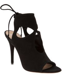 Aquazzura - Sexy Thing Cut Out Bootie - Lyst