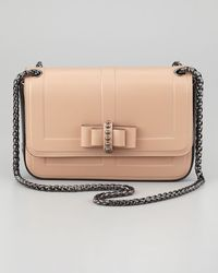 Christian Louboutin Sotto Sweet Charity Shoulder Bag Neutral - Lyst