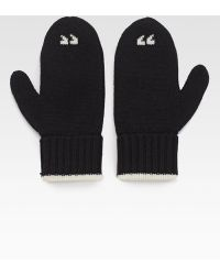 Kate Spade Big Apple Air Quote Mittens - Lyst