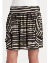 Kelly Wearstler Brown Lipari Skirt - Lyst