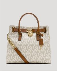 MICHAEL Michael Kors Tote - Logo Large North South - Lyst