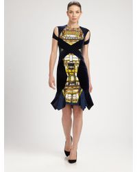 Peter Pilotto Printed Dress - Lyst