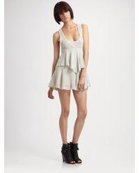 Seneca Rising - Tiered Mini Tunic Dress - Lyst
