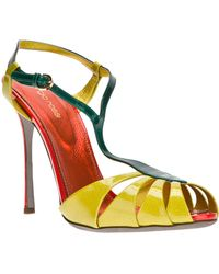 Sergio Rossi Strappy Sandal - Lyst