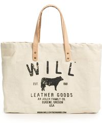 Will Leather Goods - Logo Totenatural - Lyst
