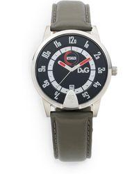 Dolce & Gabbana - Stainless Steel Daydatefunction Watch - Lyst