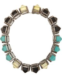 Fenton - Shinde Pointed Gem Collar - Lyst