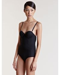 Lanvin - Womens Structured Swimsuit - Lyst