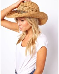 Oasis - Feather Stetson Hat - Lyst