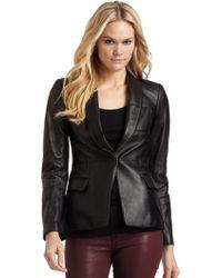 Sachin & Babi Heidi Leather Jacket - Lyst