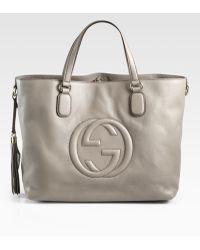 Gucci Soho Medium Tote Bag - Lyst