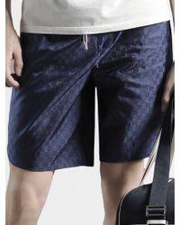 Gucci Nylon Swim Boxers blue - Lyst