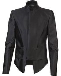Mugler Jacket black - Lyst