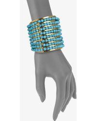 Aerin Erickson Beamon - Turquoise Cuff Bracelet - Lyst
