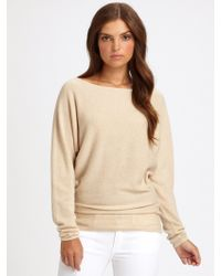 Ralph Lauren Blue Label - Cashmere Batwing Sweater - Lyst