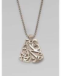 Stephen Webster - No Regrets Double Dog Tag Necklace - Lyst