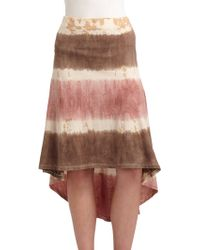Threads For Thought - Madeline Cotton Tie Dye Hilo Skirt - Lyst