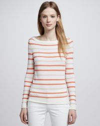 Tory Burch Gayle Textured Sweater - Lyst