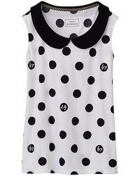 Lulu Guinness - Designed Sleeveless Tshirt D - Lyst